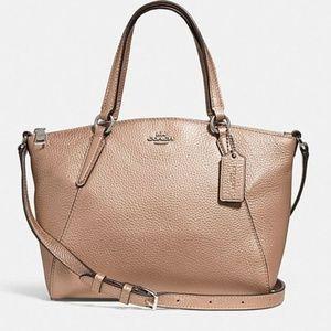 Coach Kelsey Platinum Crossbody Bag